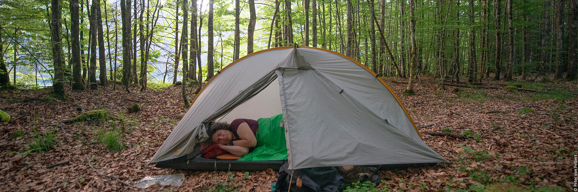 Laufen. Essen. Schlafen. – Die meistgewanderte Frau der Welt