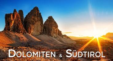 Abenteuer Dolomiten und Südtirol
