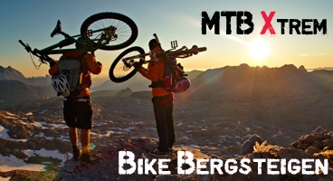 BikeBergsteigen – mit dem Mountainbike an Grenzen gehen