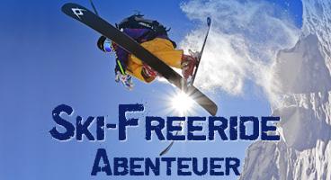 Ski-Freeride Abenteuer